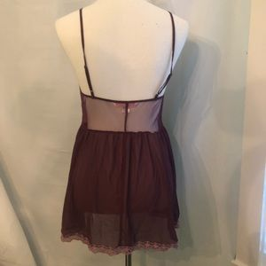 Victoria secret chemise nightgown lingerie